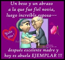 ancianos beso